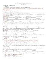 đề thi đề xuất vật lí 2011-phần tự chọn(có đáp án)
