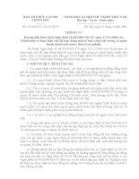 Thông tư 15 Hướng dẫn thực hiện ND 68