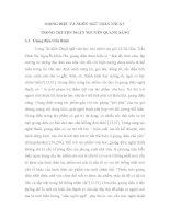 Ngôn ngữ và giọng điệu trong truyện ngắn Nguyễn Quang Sáng