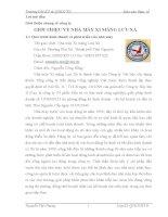 Báo cáo thực tế tại nhà máy xi măng Lưu xá