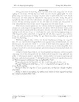 Báo cáo thực tập kế toán nguyên vật liệu tại công ty cổ phần phú vinh Thanh Hóa