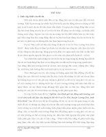 đồ án kỹ thuật vật liệu  xây dựng Nghiên cứu đánh giá tác động môi trường cuả cơ sở sản xuất vật liệu xây dựng từ đá vôi ở xã Cư Yên, huyện Lương Sơn, tỉnh Hòa Bình