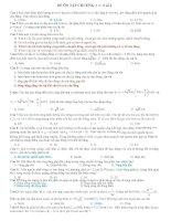 Đề ôn tập chương:1,2,3,4,5 lớp 12