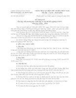 Kế hoạch ôn thi tốt nghiệp THPT năm 2001 của tỉnh Đồng Tháp ( Tham khảo )