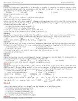 Giải chi tiết các câu liên quan đến anđêhit, xeton, axit cacboxylic trong đề thi đại học