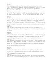 Một số bài tập về tọa độ mặt phẳng