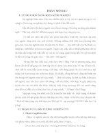 Sáng kiến kinh nghiệm Một số biện pháp rèn chữ đẹp cho HS lớp 5ª1- tại trường PTDTBT tiểu học Tả Lèng