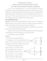 Bài tập về hệ thấu kính gương