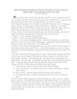 MỘT SỐ KINH NGHIỆM XÂY DỰNG TỔ CHỨC VÀ DUY TRÌ CÁC NHÓM HỌC TẬP CHO HỌC SINH TIỂU HOC