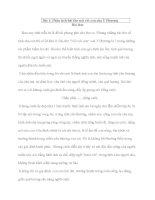 Những bài văn chọn lọc lớp 9