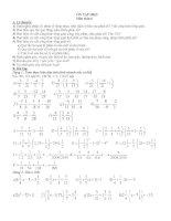 Đề cương ôn tập học kì II toán 7