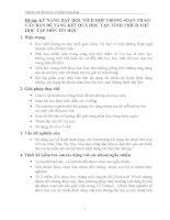 KỸ NĂNG DẠY HỌC TÍCH HỢP TRONG SOẠN THẢO VĂN BẢN ĐỂ TĂNG KẾT QUẢ HỌC TẬP, TÍNH THÍCH THÚ HỌC TẬP MÔN TIN HỌC