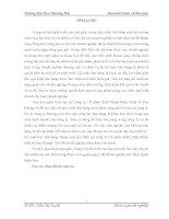 luận văn kế  toán thương mại Kế toán bán mặt hàng thang máy gia đình tại công ty Cổ phần Xuất Nhập Khẩu thiết bị Huy Hoàng