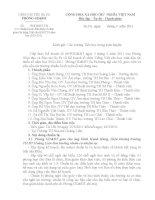 Công văn chuẩn bị các điều kiện giao lưu Tiếng Việt cho HSDTTS