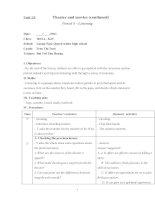 lesson plan grade 10 unit 13 speaking - 123doc