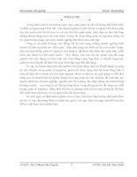 luận văn khoa thương mại quốc tế Giải pháp quản trị logistics tại công ty cổ phần thương mại Hồng Hà