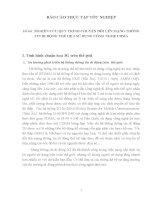 đồ án kỹ thuật viễn thông Đề tài NGHIÊN CỨU QUY TRÌNH CHUYẾN ĐỔI LÊN MẠNG THÔNG TIN DI ĐỘNG THẾ HỆ 3 SỬ DỤNG CÔNG NGHỆ CDMA.DOC