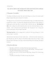 XÂY DỰNG CHIẾN LƯỢC MARKETING CHO CHUỖI NHÀ HÀNG GIMBAB HÀN QUỐC TRONG MỘT NĂM