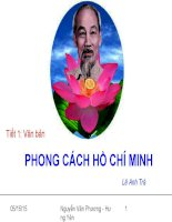 Giáo án bồi dưỡng thao giảng, thi giáo viên ngữ văn 9 bài Phong cách Hồ Chí Minh (6)