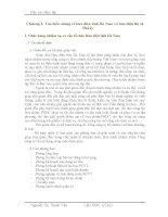 đồ án kỹ thuật viễn thông  hiểu chung về bưu điện tỉnh Hà Nam và bưu điện thị xã Phủ Lý