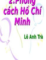 Giáo án bồi dưỡng thao giảng, thi giáo viên ngữ văn 9 bài Phong cách Hồ Chí Minh (5)