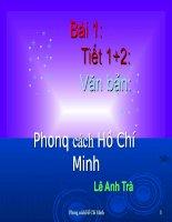 Giáo án bồi dưỡng thao giảng, thi giáo viên ngữ văn 9 bài Phong cách Hồ Chí Minh (8)