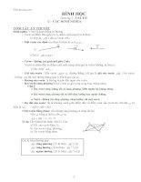 Bài tập hình học 10 nâng cao cơ bản đầy đủ
