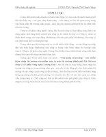 luận văn khoa marketing  Giải pháp marketing – mix nhằm thâm nhập thị trường sản phẩm máy in trên thị trường thành phố Hà Nội của công ty cổ phần công nghệ Cường Phú