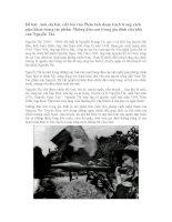 Phân tích tác phẩm Những đứa con trong gia đình của Nguyễn Thi