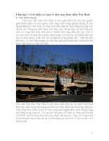 bài thu hoạch thăm quan thủy điện hòa bình