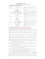 Các công thức và dạng toán về đường elip