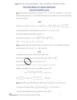Hình cầu trong hình học giải tích không gian