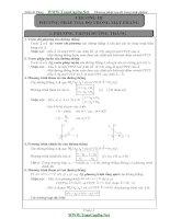 Bài tập về phương pháp tọa độ trong mặt phẳng