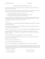 KĨ NẰNG GIẢI BT OXI HÓA KHỬ CHO 3 LỚP 10 11 12