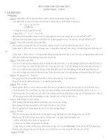 Đề cương ôn tập môn toán 6 Học Kỳ I