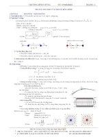 Tóm tắt công thức vật lý 11 nâng cao