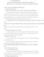 ĐỐI TƯỢNG, NHIỆM VỤ VÀ PHƯƠNG PHÁP NGHIÊN CỨUMÔN ĐƯỜNG LỐI CÁCH MẠNG CỦA ĐẢNG CỘNG SẢN VIỆT NAM