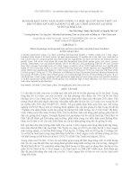 SO SÁNH KHẢ NĂNG TĂNG KHỐI LƯỢNG VÀ HIỆU QUẢ SỬ DỤNG THỨC ĂN KHI VỖ BÉO GIỮA BÊ LAI SIND VÀ BÊ LAI ½ RED ANGUS XLAI SIND NUÔI TẠI ĐĂK LĂK