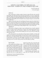 Khoảng cách thông tin trên báo cáo kiểm toán - nghiên cứu thực nghiệm ở Việt Nam