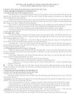 SỰ RA ĐỜI CỦA ĐẢNG CỘNG SẢN VIỆT NAM VÀ CƯƠNG LĨNH CHÍNH TRỊ ĐẦU TIÊN CỦA ĐẢNG