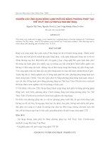Nghiên cứu ứng dụng đông lạnh phôi bò bằng phương pháp tạo thể thuỷ tinh (Vitrification method)