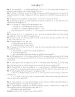 Bài tập bồi dưỡng Hóa học 8