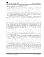 đồ án kỹ thuật xây dựng Thiết kế tổ chức thi công nhà học chính A2 – HOC VIỆN CÔNG NGHỆ BƯU CHÍNH VIỄN THÔNG - Phường Văn Mỗ - Quận Hà Đông - Hà Nội