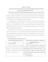 BÁO CÁO THỰC TẬP-CHUYÊN ĐỀ ỨNG DỤNG PHƯƠNG PHÁP DẠY HỌC VNEN VÀO PHÂN MÔN HỌC TẬP