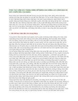 PHÁT HUY DÂN CHỦ TRONG ĐẢNG ĐỂ NÂNG CAO NĂNG LỰC LÃNH ĐẠO VÀ SỨC CHIẾN ĐẤU CỦA ĐẢNG