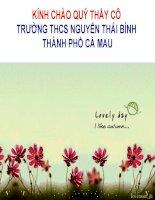 CN7- BÀI 49- VAI TRO NHIẸM VỤ CỦA NUOI TRÒNG THUY SẢN