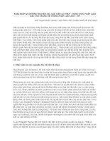 KHÁI NIỆM VÀ NHỮNG NGUYÊN TẮC CỦA TIỀN LỆ PHÁP – HÌNH THỨC PHÁP LUẬTĐẶC THÙ TRONG HỆ THỐNG PHÁP LUẬT ANH - MỸ