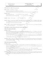 Đề thi thử Đại học số 11 năm 2011 của math.vn