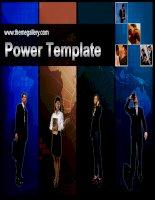 Templates Powerpoint Business 313TGp professional dark