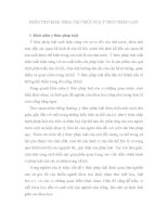 BÁO CÁO-PHÂN TÍCH KHÁI NIỆM, CẤU TRÚC CỦA Ý THỨC PHÁP LUẬT
